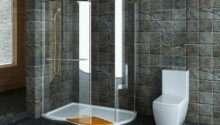 Walk Shower Small Bathroom Decorating Ideas Kitchentoday