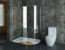 Walk Shower Small Bathroom Decorating Ideas Kitchentoday