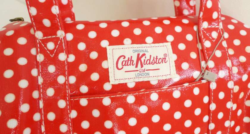 Walking Style Cath Kidston Ins Red Polka Dots Bag All Sold