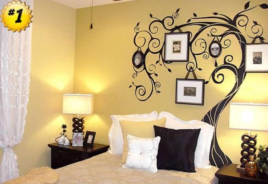 Wall Designs Bedroom Paint Best Living Room