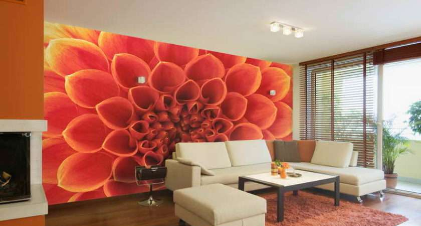 Wall Feature Ideas Home Interior Flowers