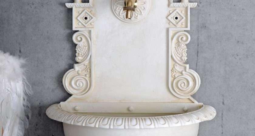 Wall Fountain Vintage Water Garden Indoor