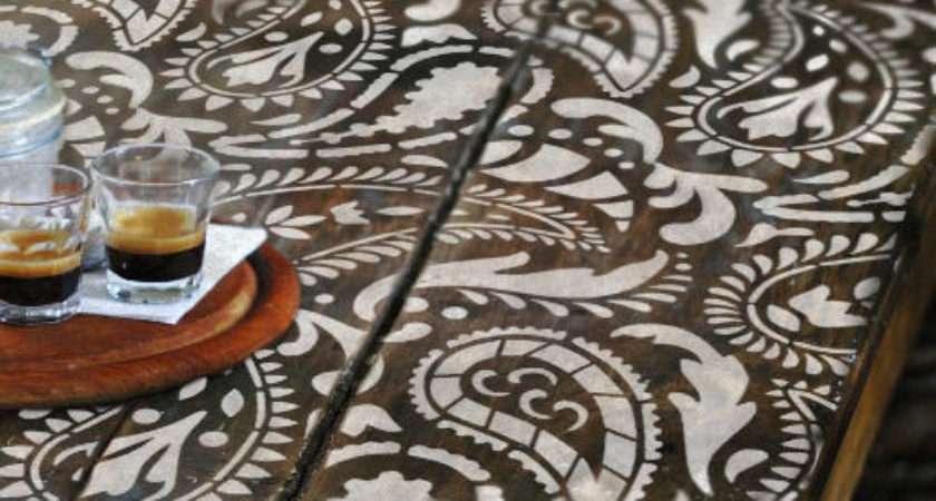 Wall Furniture Floor Craft Stencil Taj Mahal Indian