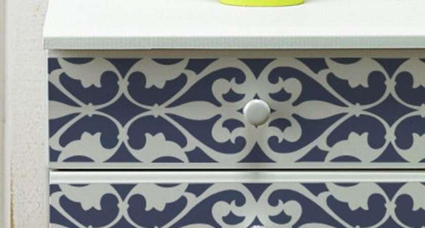 Wall Furniture Pattern Stencil Medium Florentine Grille