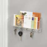 Wall Mounted Letter Rack Key Hooks Jodie Byrne