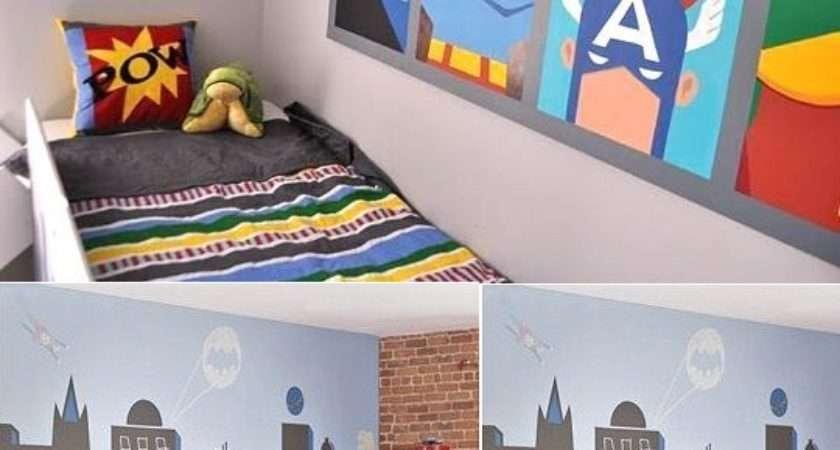 Wall Mural Inspiration Ideas Little Boys Rooms