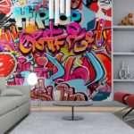 Wall Murals Graffiti Music Canvas Prints Posters