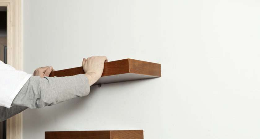 Wall Shelves Great Way Decorate Your Bedroom Not Only Can