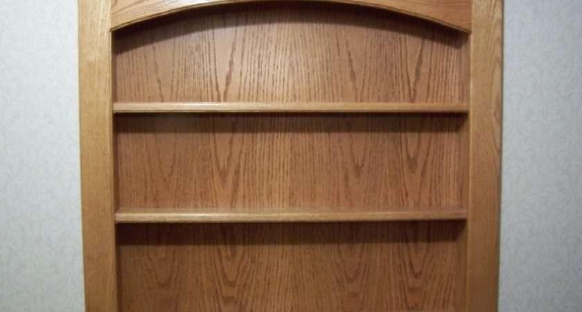 Wall Shelves Mounted Oak Shelving Units