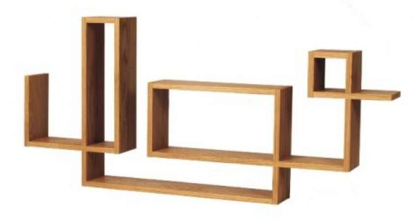 Wall Shelves Oak Shelf