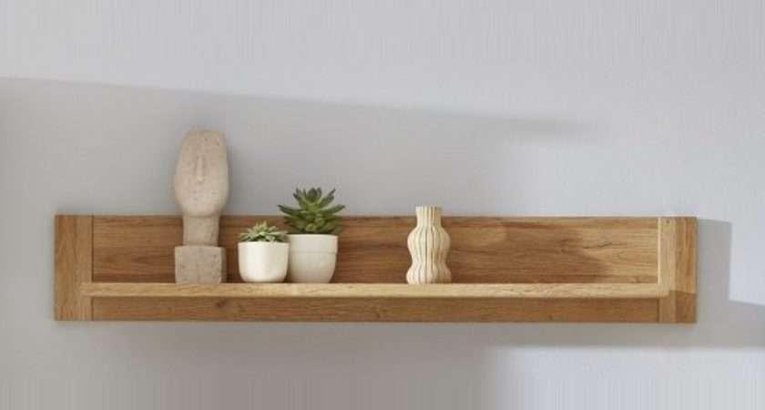 Wall Shelves Oak Shelving