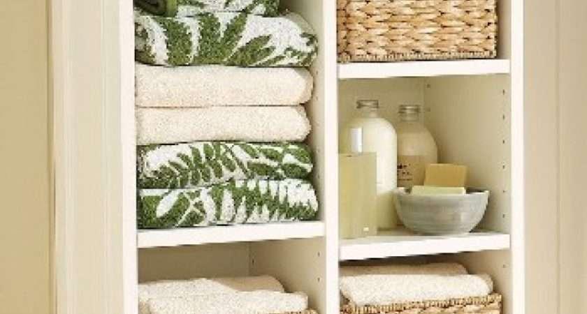 Wall Shelves Wicker Bathroom