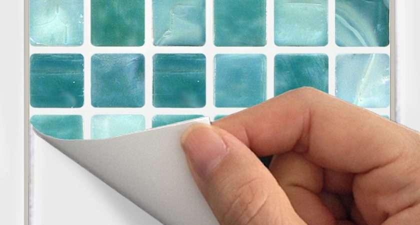 Wall Tile Decals Vinyl Sticker Waterproof