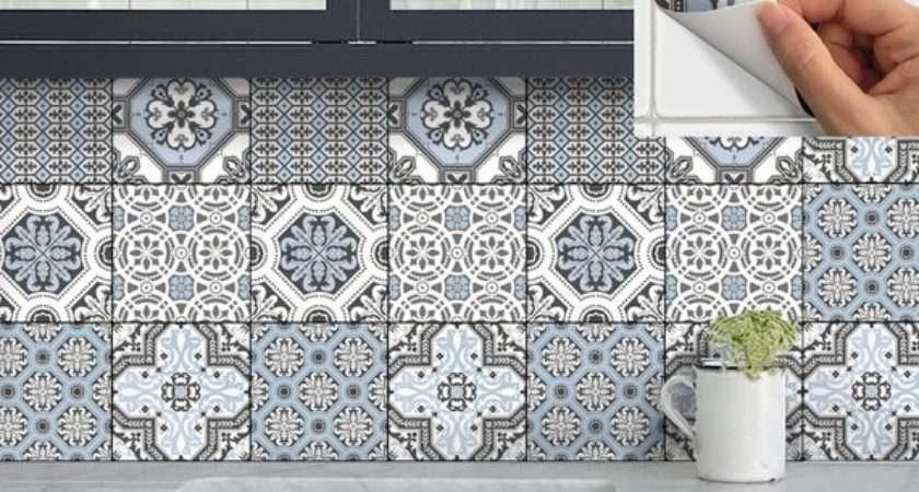 Wall Tile Vinyl Decal Sticker Kitchen Bath Stair Riser