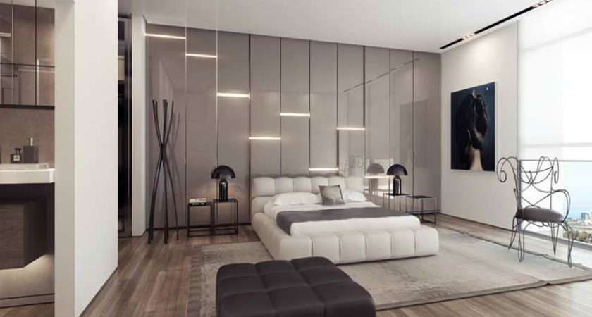 Wall White Platform Bed Gloss Feature Ideas