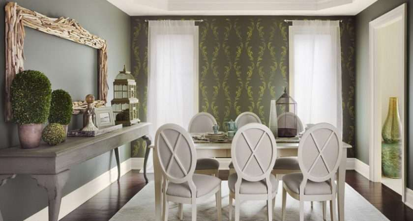 Walls Color Combinations Cool Grey Dining Room
