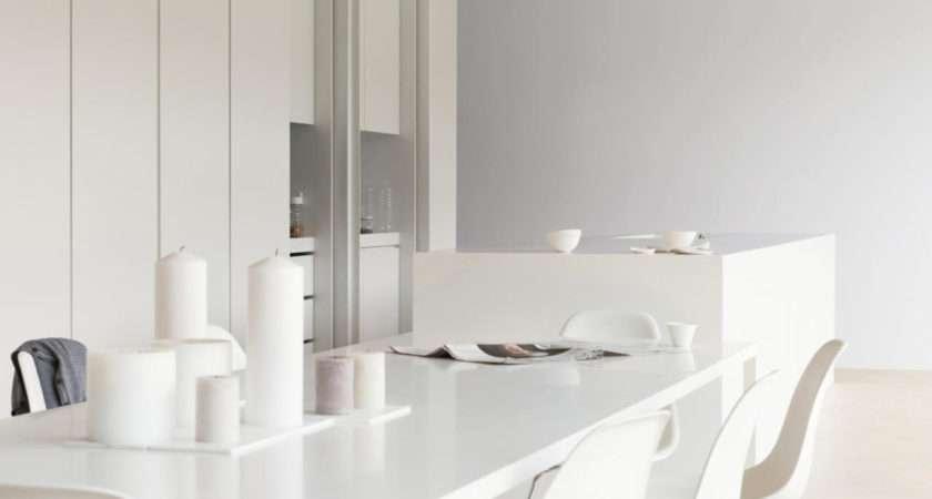 Warmth White Kitchens Silver Grey Dulux