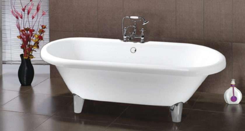 Waterlux Windsor Double Ended Roll Top Bath Modern