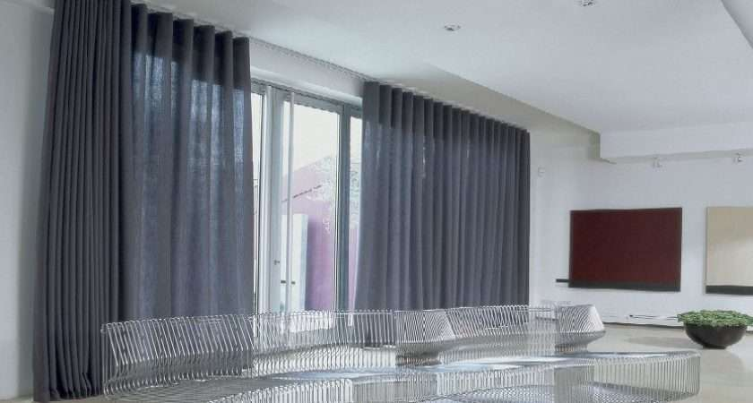 Wave Curtain Track System Designer Curtains London