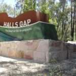 Wayne Dennett Comments Off Stone Entrance Sign Halls Gap