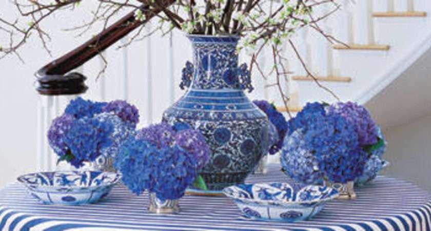 Ways Decorate Blue White Decor