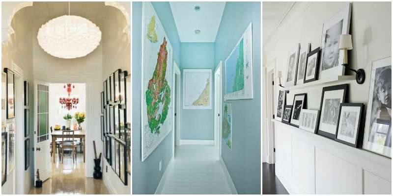 Ways Decorate Hallway Remodelaholic