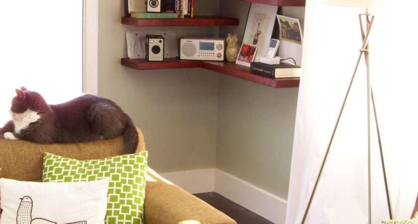 Ways Diy Creative Corner Shelves