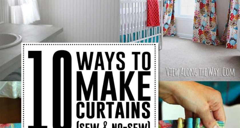 Ways Make Curtains Sew