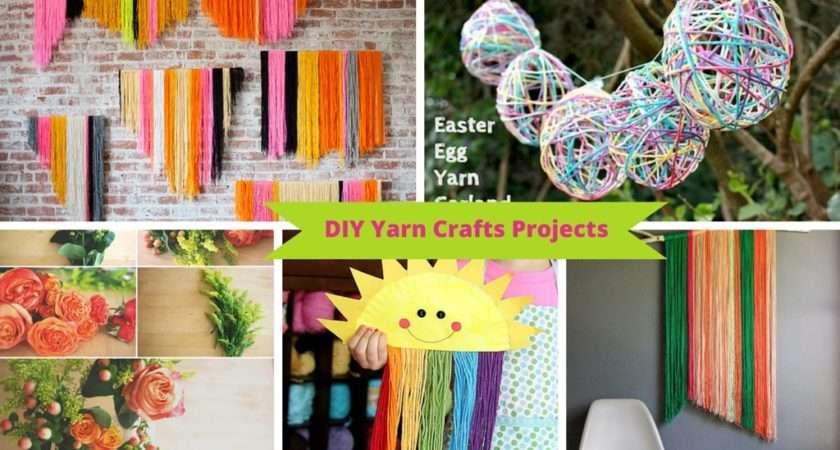 Ways Make Diy Yarn Crafts Your Leftover