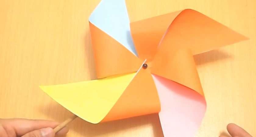 Ways Make Pinwheel Wikihow