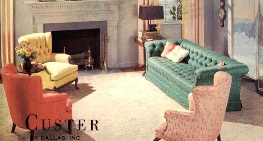 Wealthy Living Room Retro Vintage Pinterest