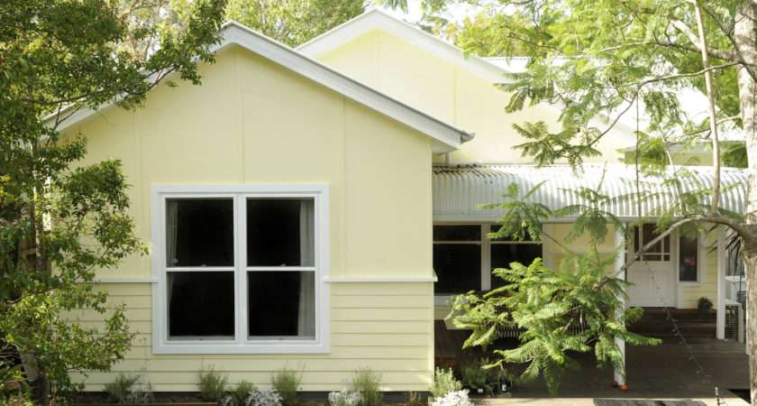 Weatherboard Cottage Modern Twist Colour Design Style