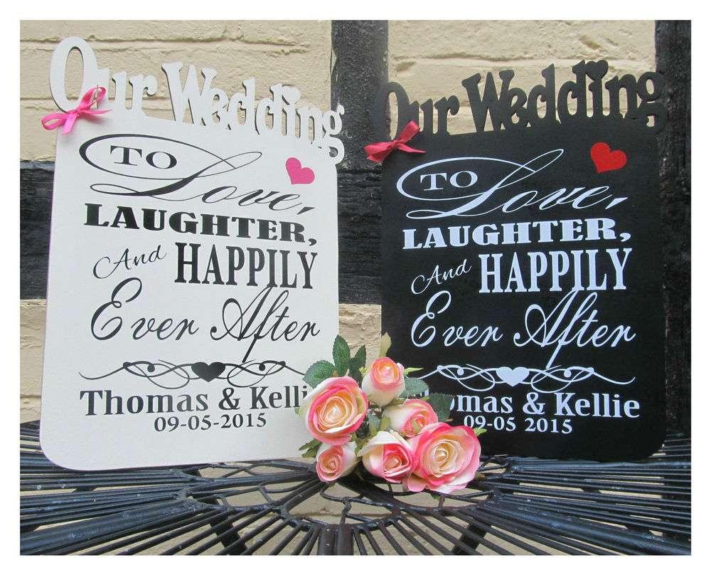 Wedding Reception Plaque Sign Engagement Gift Mrs Keepsake