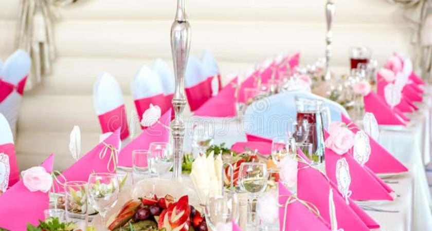 Wedding Table Decorations Dinner