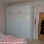 West Sussex Curved Wardrobe Malvern Hills Furniture Ltd