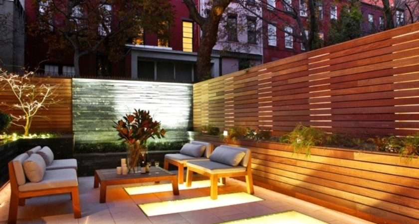 West Village Townhouse Contemporary Patio New York