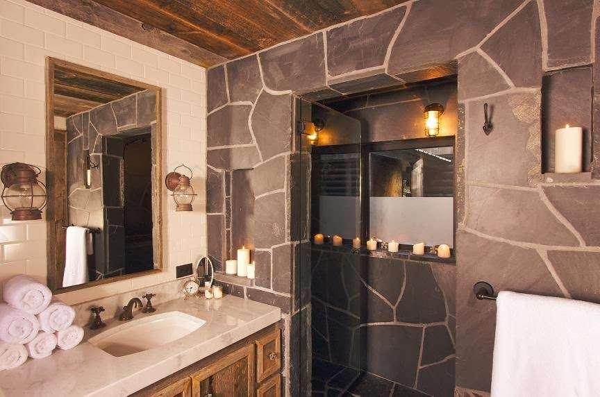 Western Rustic Bathroom Decor Ideas Furniture