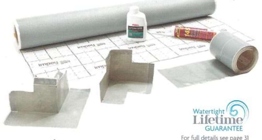 Wet Room Shower Waterproofing