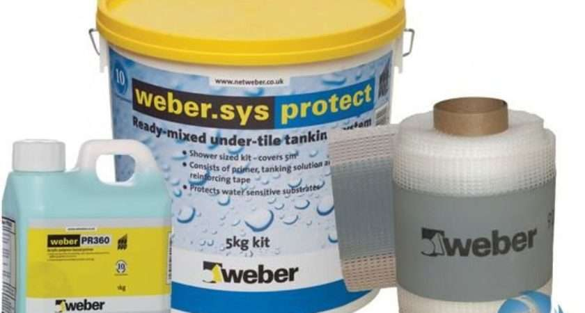 Wet Room Waterproofing Tanking Weber Sys Protect