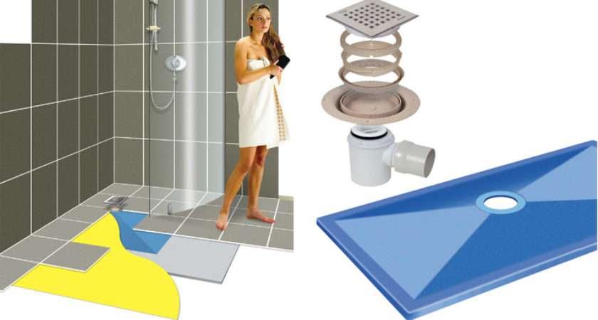 Wetroom Floor System Various Sizes Shower Enclosures