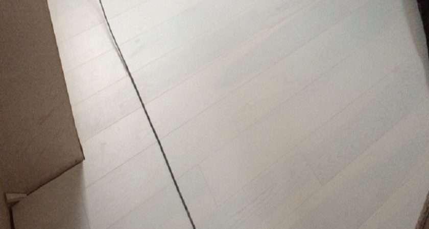 White Ash Brushed Lacquered Engineered Flooring London