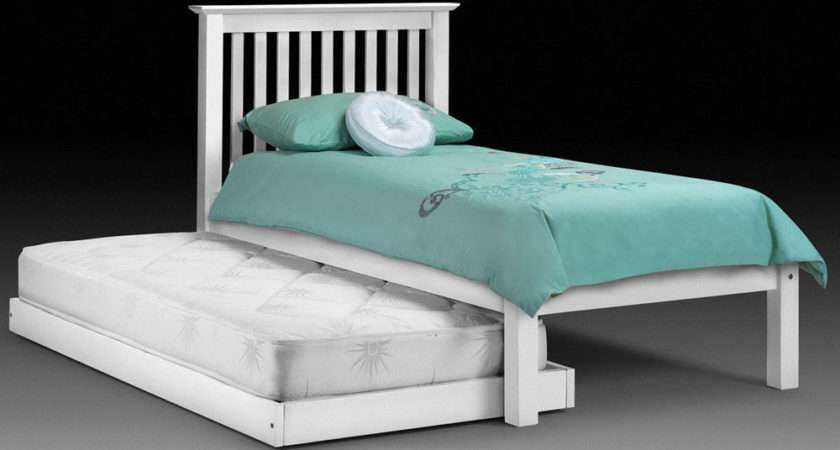 White Barcelona Hide Away Single Guest Bed