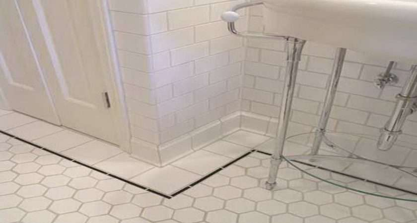 White Bathroom Floors Tile