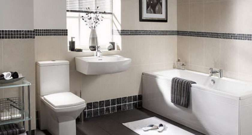 White Bathroom Ideas Black Bathrooms Designs Small Space