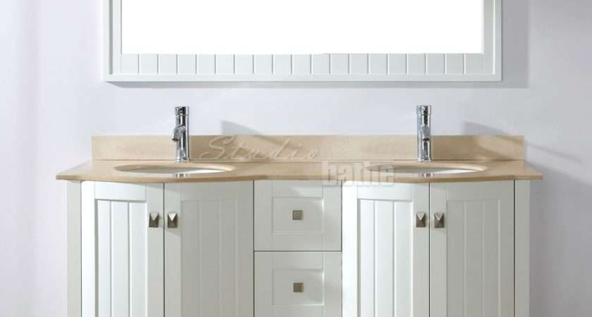 White Bathroom Vanities Decorating Ideas