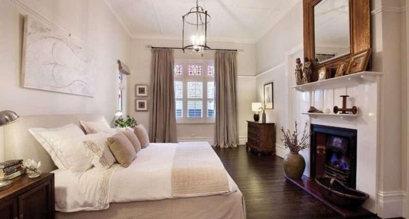 White Beige Bedroom Home Pinterest
