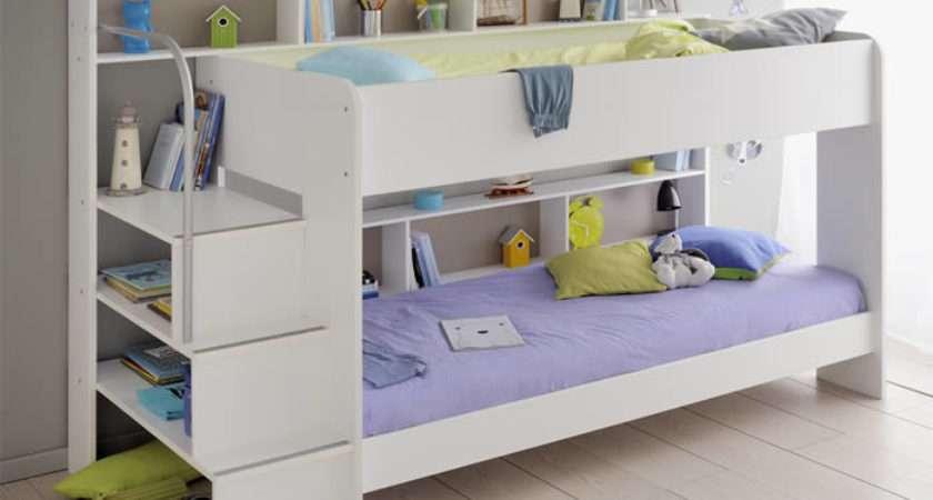 White Bunk Bed Kids Avenue Bibop