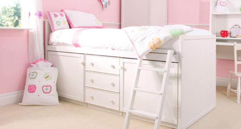 White Cabin Bed Cbc
