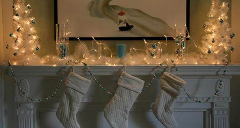 White Christmas Stocking Decorations One Total Photos Outstanding