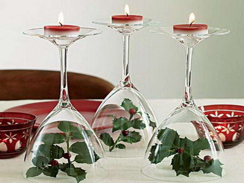 White Christmas Table Decorations Ideas Outdoor